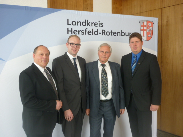 Werner David, Timo Krause, Rolf Malachowski, Bernd Böhle (v.l.n.r.)